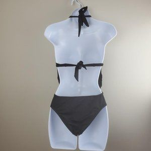 Bar III Swim - Bar III Womens Draped Monokini One-Piece Swimsuit
